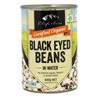 Picture of CHEF'S CHOICE BLACK EYED BEANS IN WATER 400GR