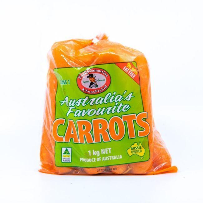 Picture of CARROT ORANGE 1KG BAG
